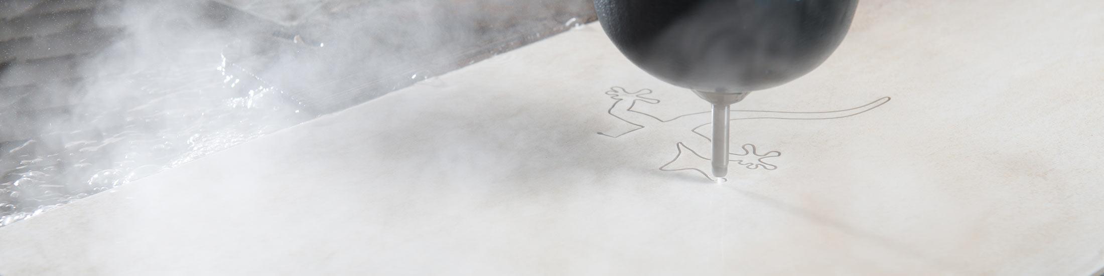 wasserstrahlschneiden von fliesen stahl glas keramik cerasell. Black Bedroom Furniture Sets. Home Design Ideas