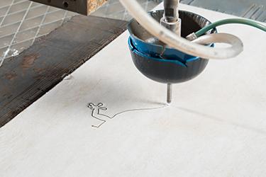 wasserstrahlschneiden mosaik aus fliesen geschnitten. Black Bedroom Furniture Sets. Home Design Ideas